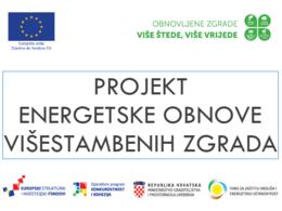 Projekt energetske obnove višestambenih zgrada